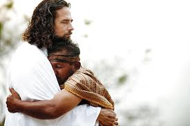 Hugging Jesus