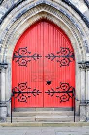 Red Door on Church