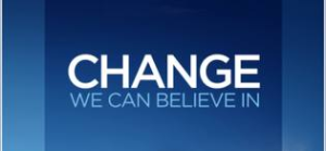 Change we can believe