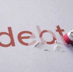 debt forgiven