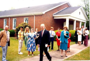 Jimmy Carter at Church