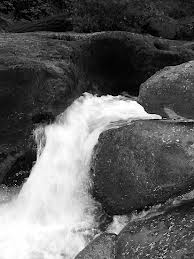 Water Carving Rock