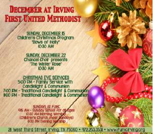 Christmas FUMC Irving 2013