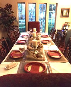 Thanksgiving Table 11-26-15